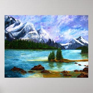 Rocky Mountain Framed Print