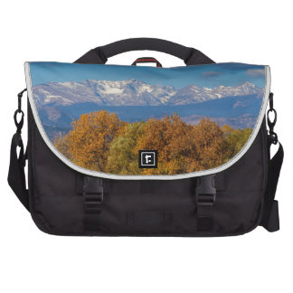 Rocky Mountain Front Range Colorful View Laptop Bags