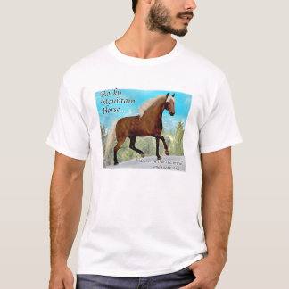 Rocky Mountain Gaited Horse T-Shirt