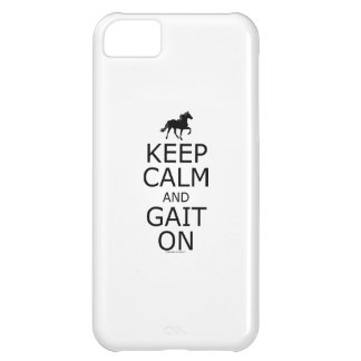 Rocky Mountain Horse Keep Calm Gait On iPhone 5C Cases