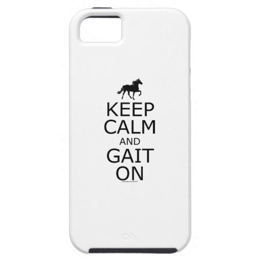 Rocky Mountain Horse Keep Calm Gait On Cover For iPhone 5/5S