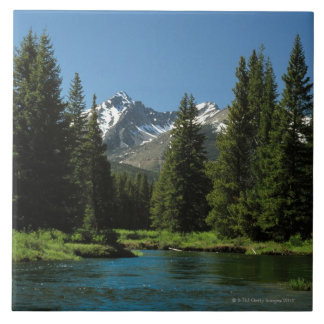 Rocky Mountain National Park , Colorado 2 Large Square Tile