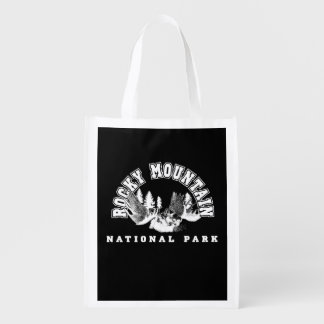 Rocky Mountain National Park Reusable Grocery Bag