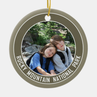 Rocky Mountain National Park Souvenir Christmas Ornament