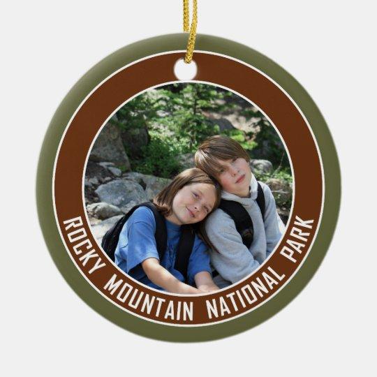 Rocky Mountain National Park Souvenir Christmas Ornament