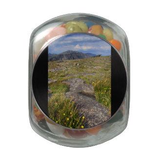 Rocky Mountain National Park Glass Jar
