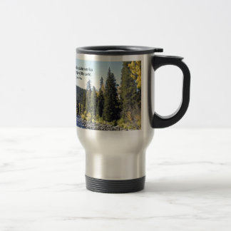 Rocky Mountain National Park with quote Mugs