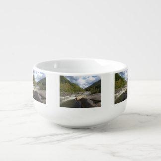 Rocky Mountain River Soup Mug