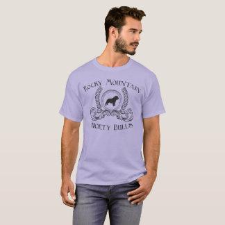 Rocky Mountain Shorty Bulls T-Shirt Black design