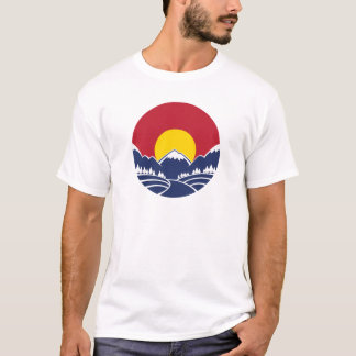 Rocky Mountain Sunset Logo T-Shirt