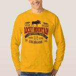 Rocky Mountain Vintage Maroon Tee Shirts