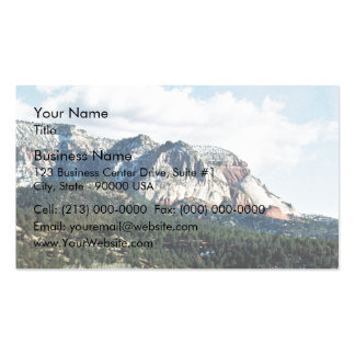 Rocky Mountains Business Card Templates