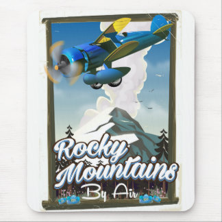 Rocky Mountains by Air! Mouse Mat