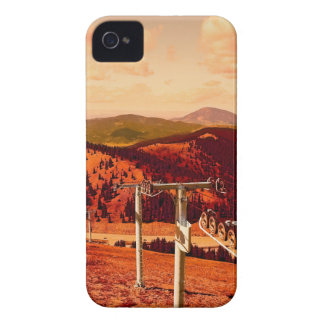 Rocky Mountains Continental Divide Ski Lift iPhone 4 Cover