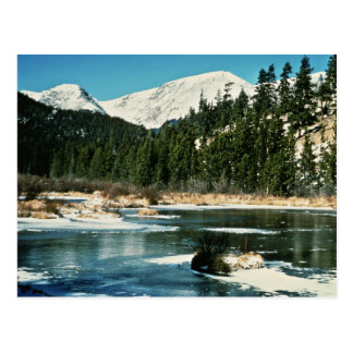 Rocky Mountains, National Park Postcards