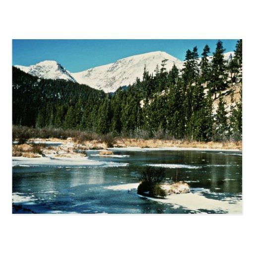 Rocky Mountains, National Park Postcards