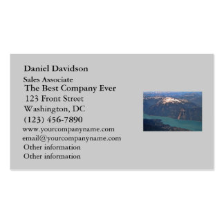 Rocky Mountains Photo Business Card Templates