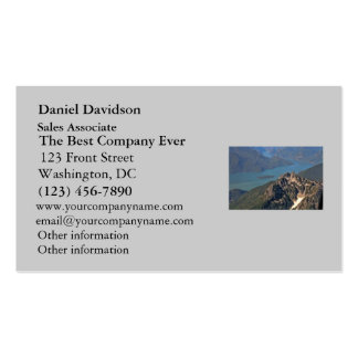Rocky Mountains Picture Business Cards
