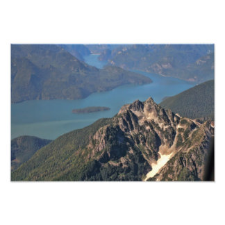 Rocky Mountains Picture Art Photo
