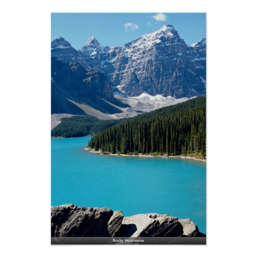 Rocky Mountains Posters