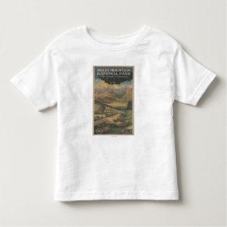Rocky Mt. Nat'l Park Brochure # 1 Toddler T-Shirt