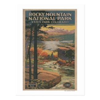 Rocky Mt. Nat'l Park Brochure # 2 Postcard