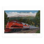 Rocky Mt. Rocket (Train), Pikes Peak, Colorado Postcards
