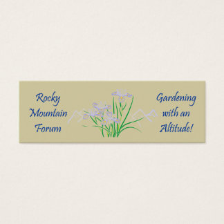 Rocky Mtn #5 Mini Business Card