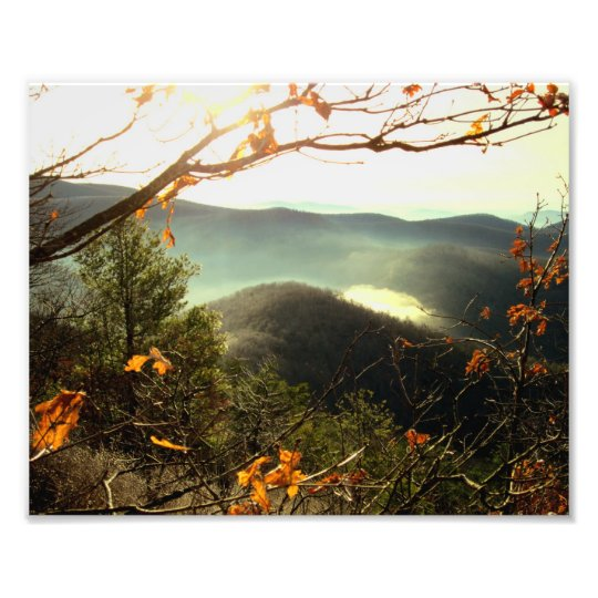 Rocky Mtn. Appalachian Trail, Georgia Photo Print