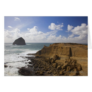 Rocky Oregon Pacific Coast in Pacific City Card