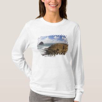 Rocky Oregon Pacific Coast in Pacific City T-Shirt