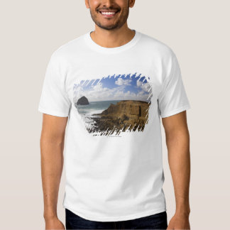 Rocky Oregon Pacific Coast in Pacific City Tee Shirt