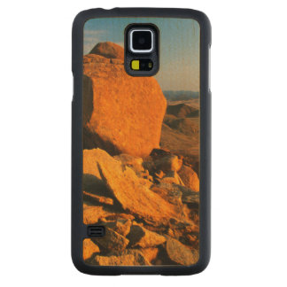 Rocky Outcrop And Desert Valley, Richtersveld Carved Maple Galaxy S5 Case