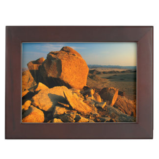 Rocky Outcrop And Desert Valley, Richtersveld Keepsake Box