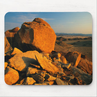 Rocky Outcrop And Desert Valley, Richtersveld Mouse Pad