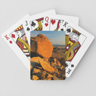 Rocky Outcrop And Desert Valley, Richtersveld Poker Deck