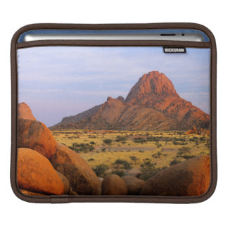 Rocky Outcrop And Plain, Spitzkoppe, Erongo iPad Sleeve