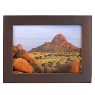Rocky Outcrop And Plain, Spitzkoppe, Erongo Keepsake Box