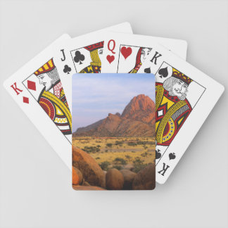 Rocky Outcrop And Plain, Spitzkoppe, Erongo Playing Cards