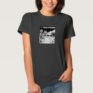 Rocky Point Park House Of Horrors Ladies Tee