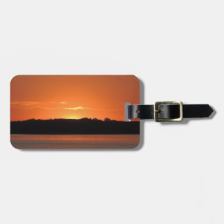 Rocky Point Sunrise Luggage Tag