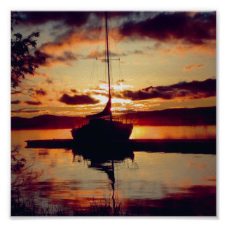 Rocky Point Sunset Print