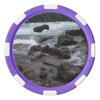 Rocky Rapids at Niagara Falls Poker Chips