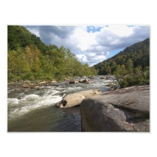 Rocky Rapids Photo Art