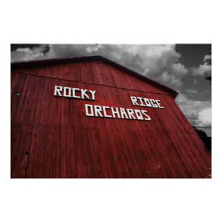 Rocky Ridge Orchards Poster