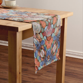 Rocky Roads  Colorful Table Runner