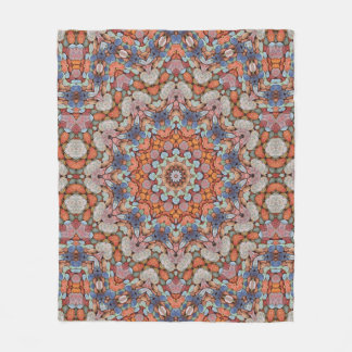Rocky Roads Kaleidoscope   Fleece Blankets 3 sizes