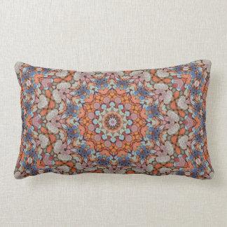 Rocky Roads  Kaleidoscope Pattern Lumbar Pillows