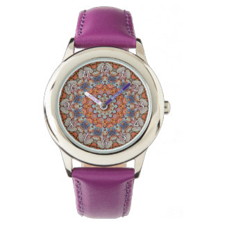 Rocky Roads  Kaleidoscope  Vintage Kids Watch