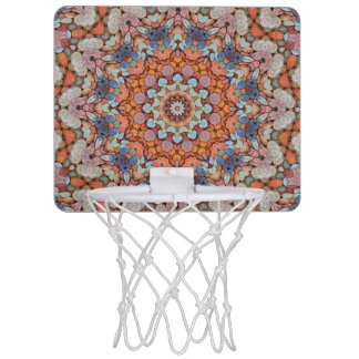 Rocky Roads Vintage Kaleidoscope Basketball Hoops